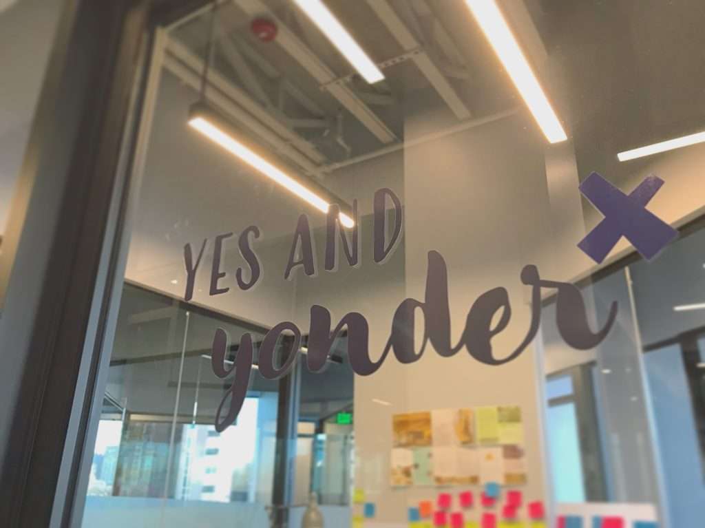Yes and Yonder logo